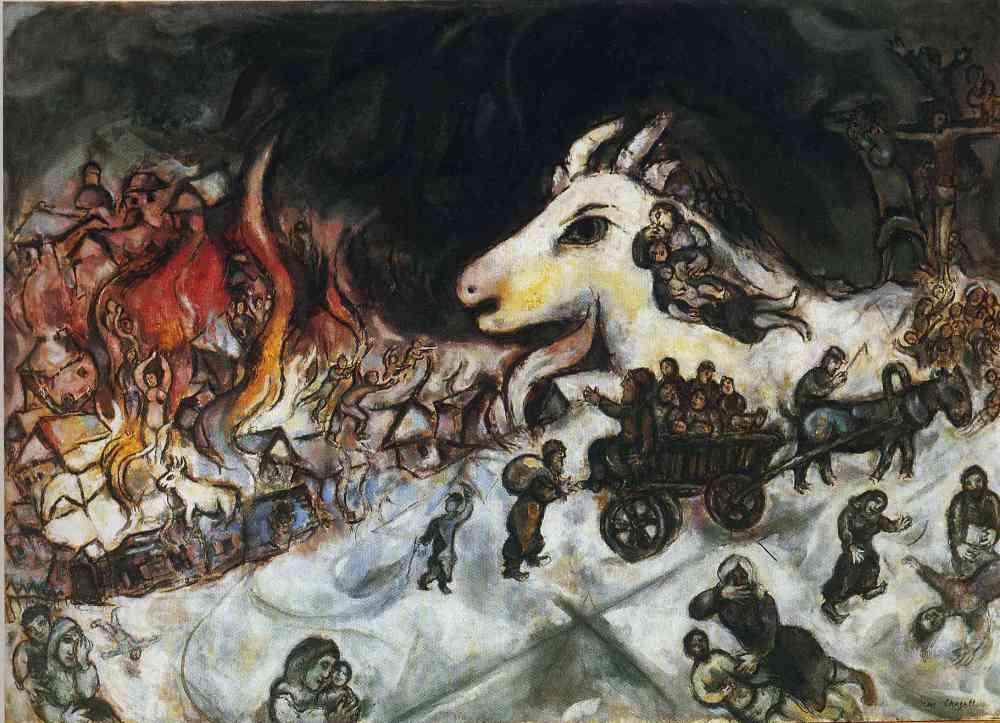 marc chagall 'krig'
