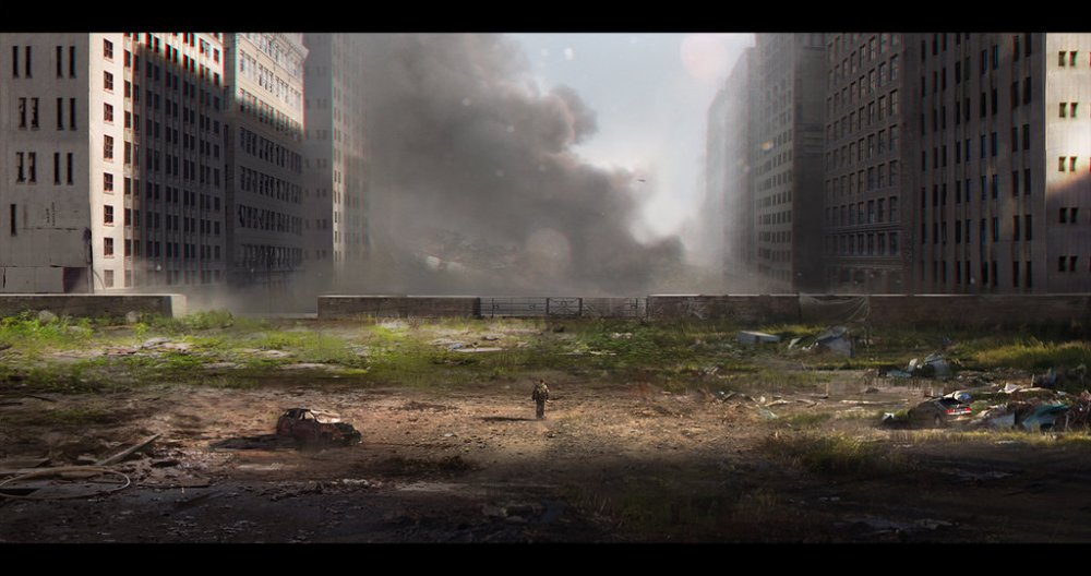 victor mosquera 'zombie abandoned city'