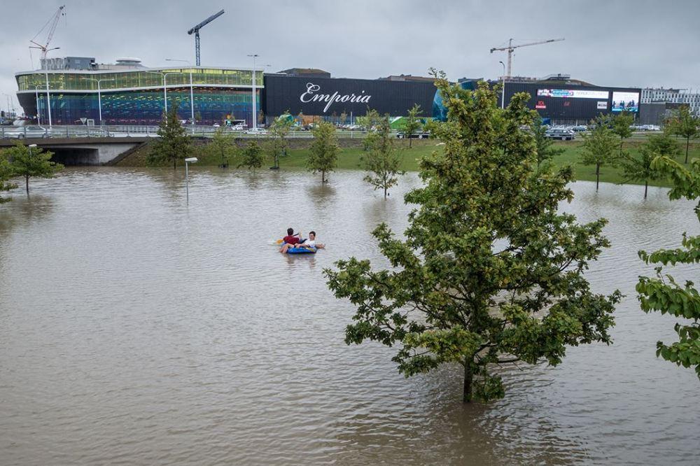 översvämning i malmö emporia