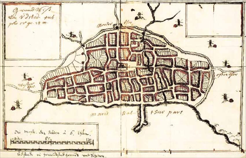johannes meijers ystadskarta 1655-58