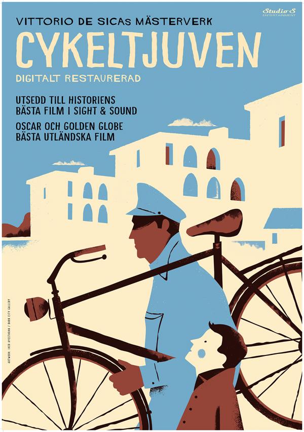 Cykeltjuven-poster
