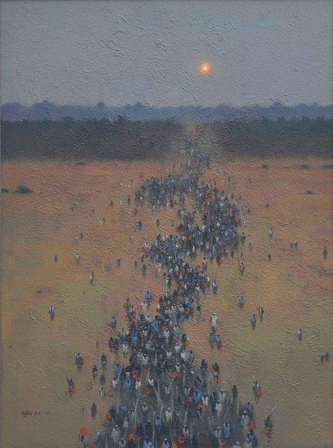 abiodun olaku 'migration' (2011)
